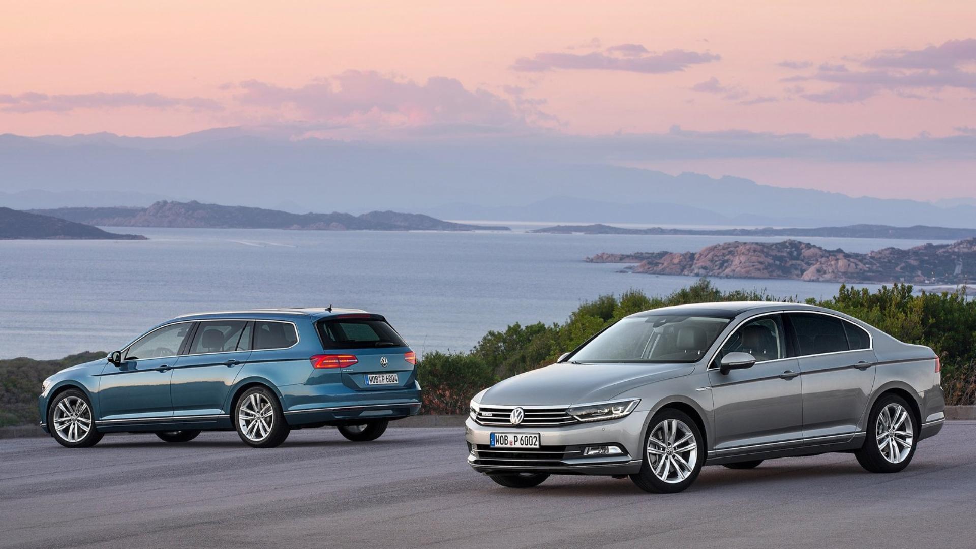 Současná generace modelu VW Passat z roku 2015