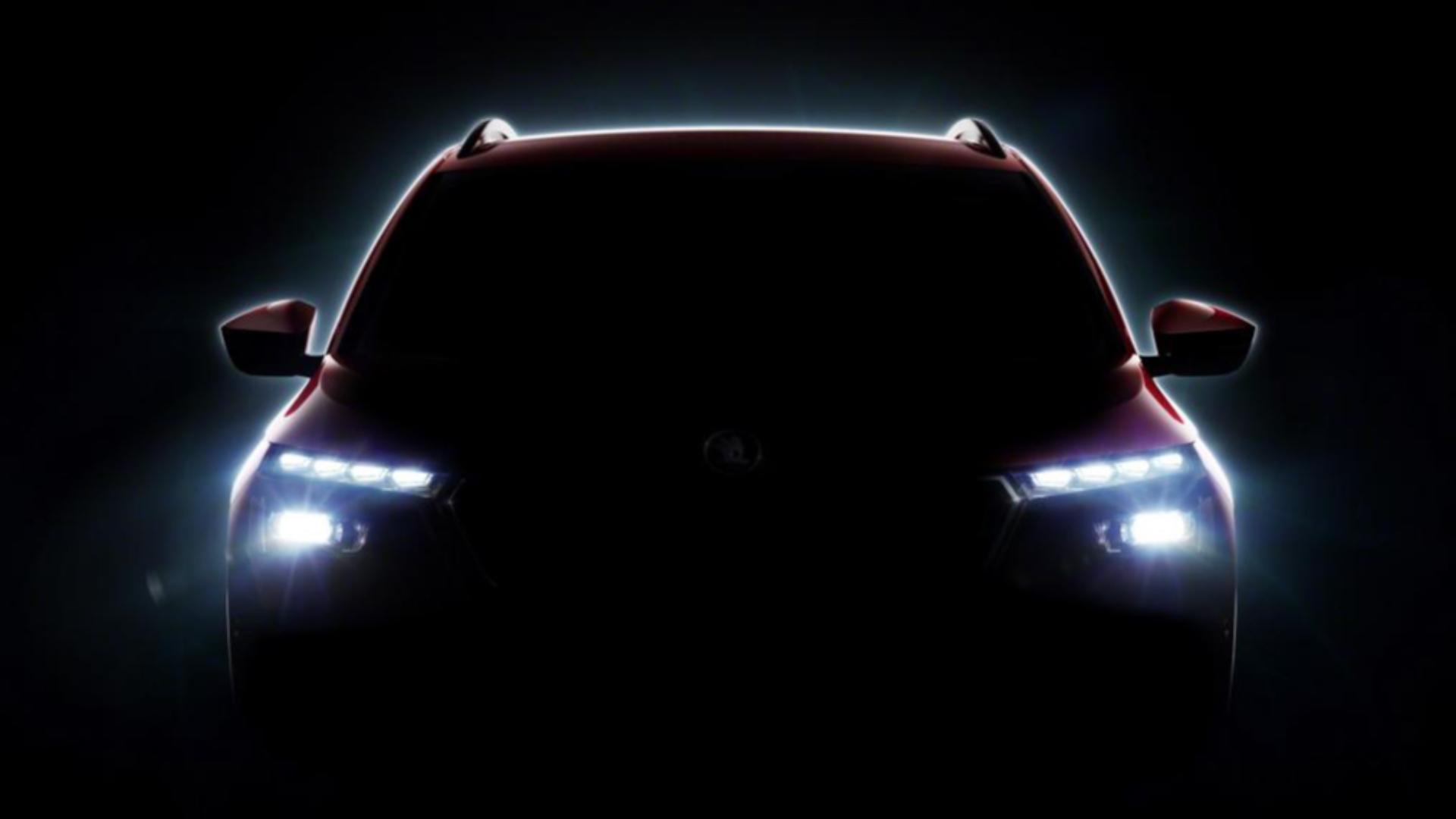 Škoda Kamiq teaser