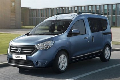 Dacia Dokker 1.6 SCe LPG - benzin Arctica LPG