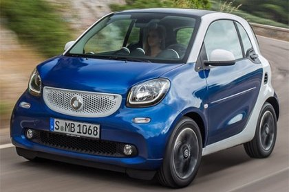 Smart fortwo 66 kW AT passion